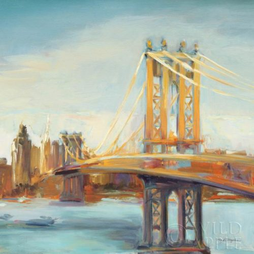 Sunny Manhattan Bridge by Marilyn Hageman