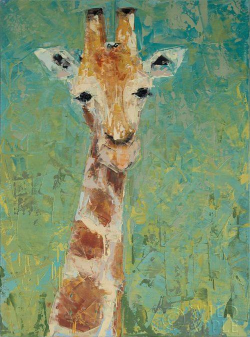 Giraffe by Rebecca Kinkead