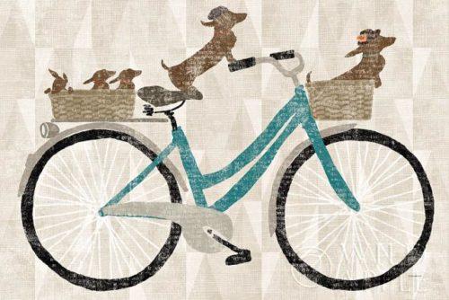 Doxie Ride Ver II by Sue Schlabach