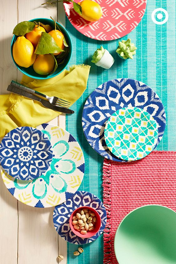 Colorful dinnerware from Target  sc 1 st  Wild Apple Graphics & Colorful dinnerware from Target - Wild Apple