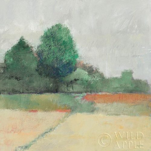 Path Through the Field Crop Green by Avery Tillmon