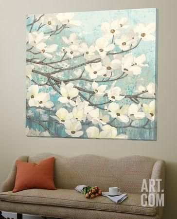 Dogwood Blossoms II by James Wiens