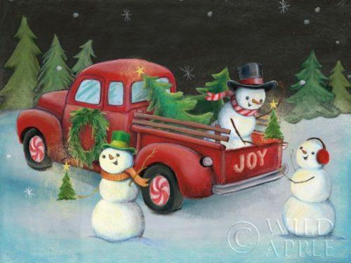 Christmas on Wheels II by Mary Urban