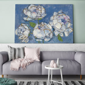 Bold Floral Art and Wall Decor