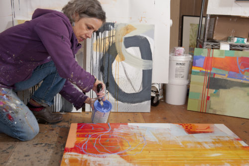 Jane Davies painting
