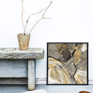 Gilded Neutral Art for the Home