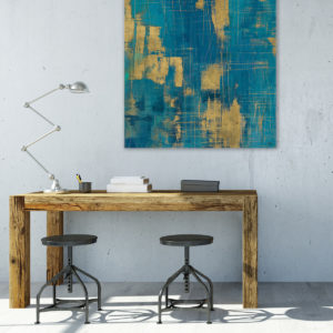 Metallic art for the home