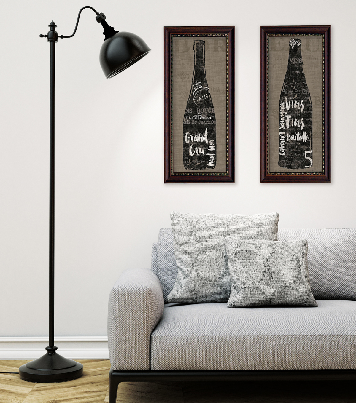 Updated Silhouettes home decor trend