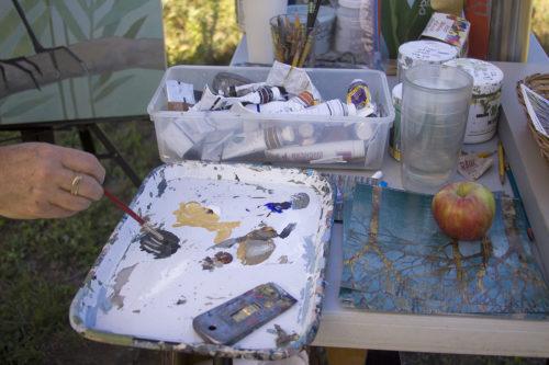 Kathrine Lovell's paints