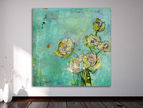 contemporary-mixed-media-art by Kellie Day