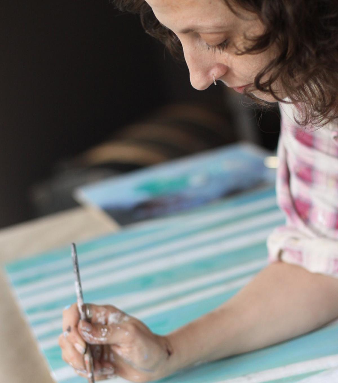 Painter Melissa Averinos