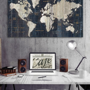 Map Trend Home Decor