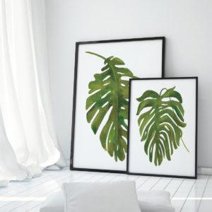 Tropical Palm I by Wild Apple Portfolio