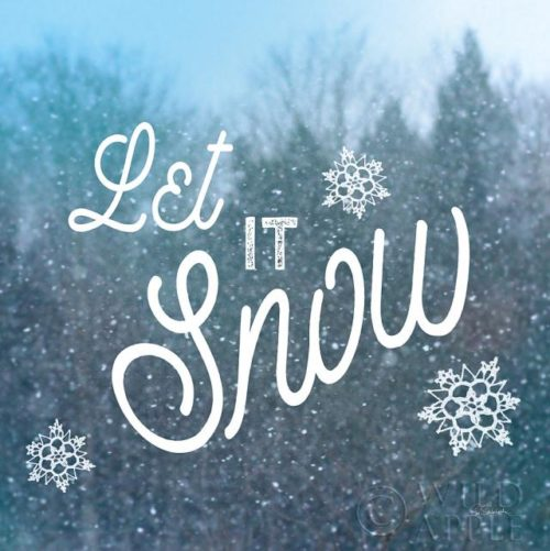Let it Snow I By Sue Schlabach