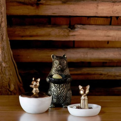 Woodland Trinket Dishes from West Elm