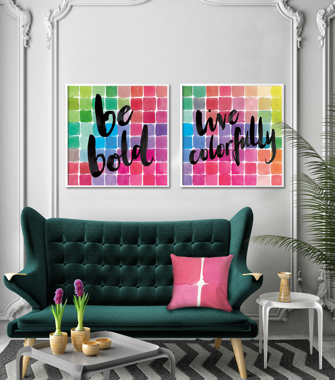 Decorating with jewel tones
