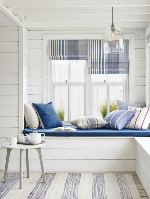 Coastal Window Seat from Roost Blog