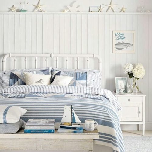 Coastal Bedroom from the Spruce