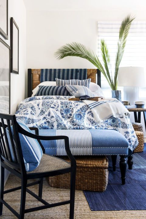 Coastal Bedroom inspiration from Tuvalu Home