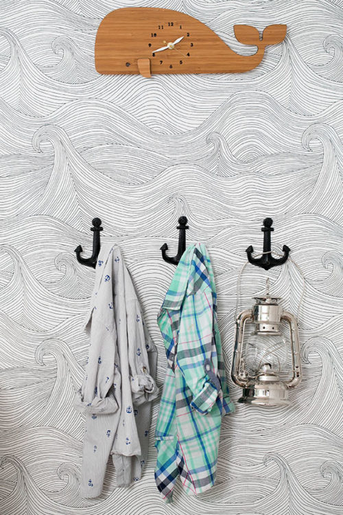 Nautical-themed kids bedroom from 100 Layer Cake-let