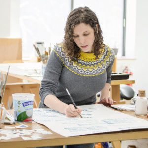 In the Studio with Artist Moira Hershey