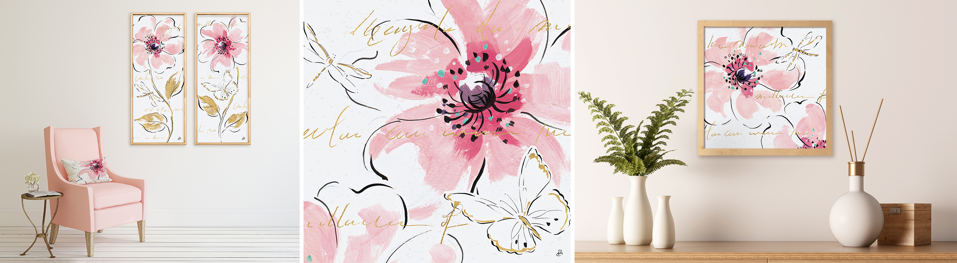Pink Trend Home Decor