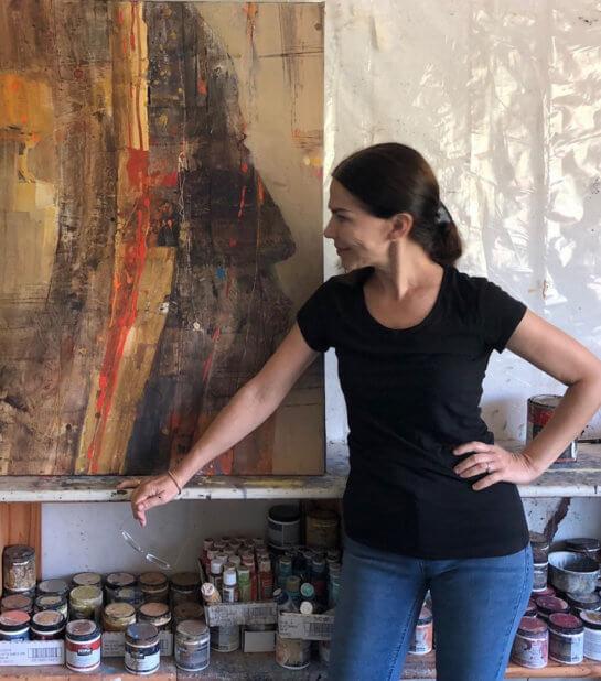A Visit with Artist Albena Hristova
