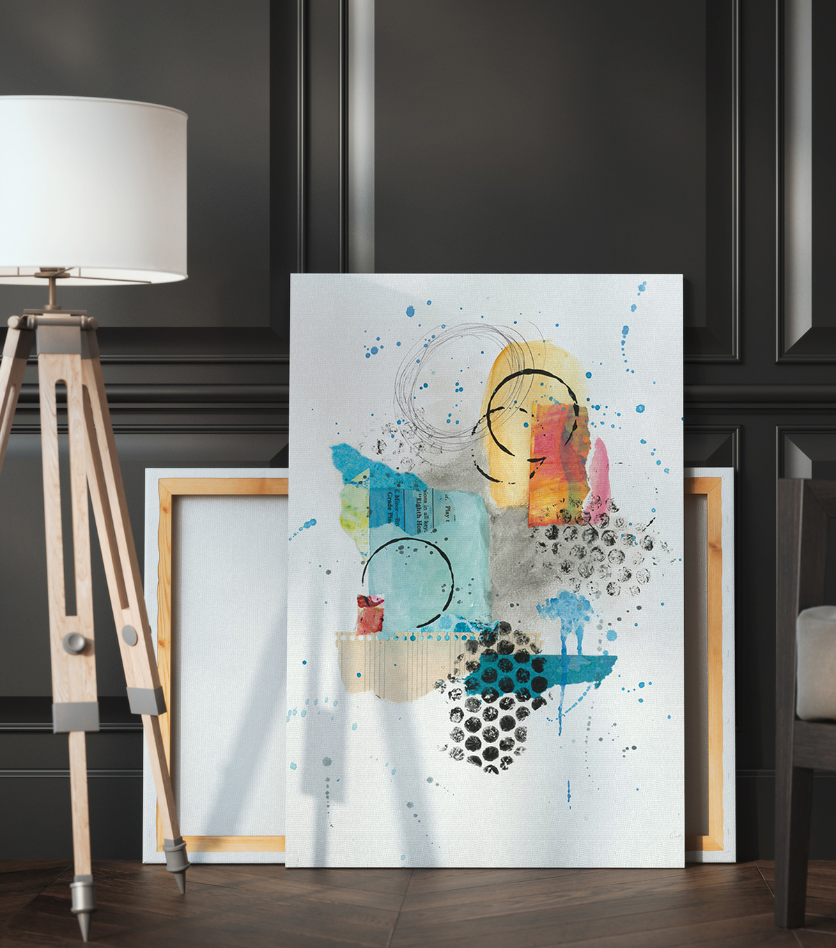 Bold Abstract Wall Decor