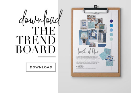 Trend Board Touch of Blue